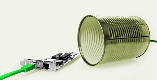過去の電話の仕組み