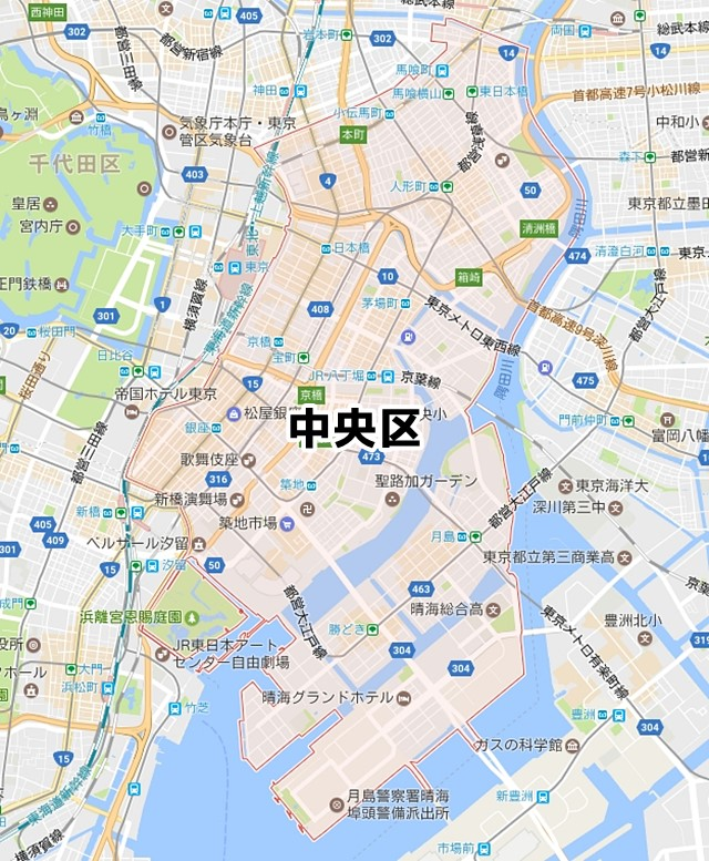 中央区(東京都)のNURO光回線対応...
