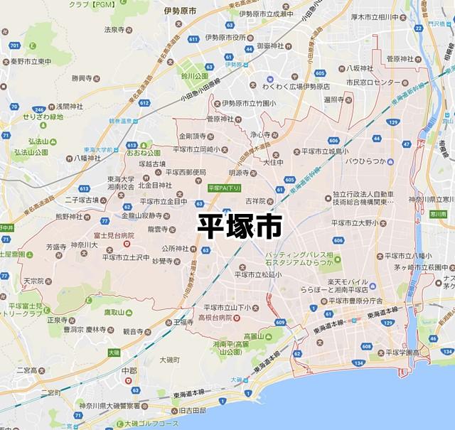 平塚市(神奈川)のNURO光回線対応エリア マンション・アパート名 ...