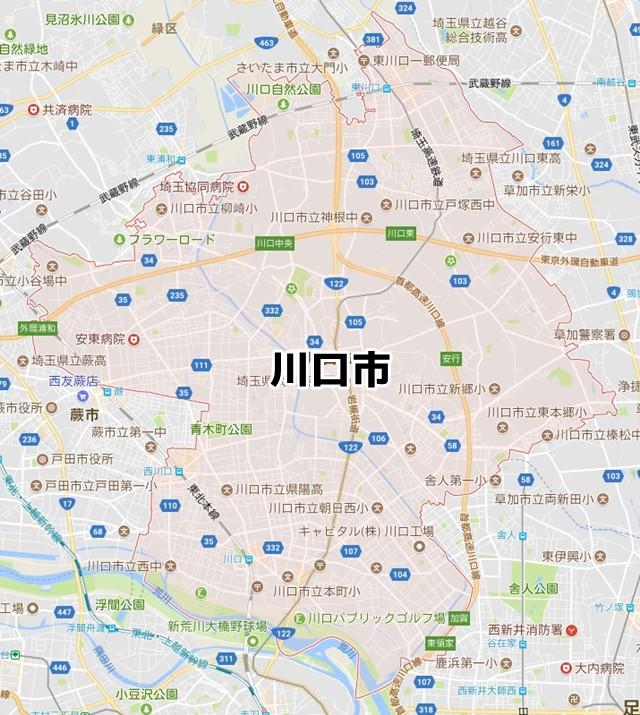 埼玉県川口市 のNURO光対応状況を調べました。