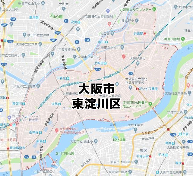 大阪市東淀川区のNURO光回線対応エリア マンション・アパート名 ...