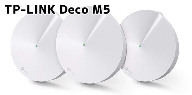 TP-LINK Deco M5 本体画像