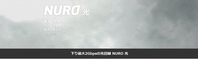 NURO光の速度